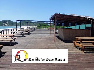 Paraiso do Ouro Resort, Bar deck.