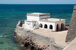 Chapel of Nossa Senhora de Baluarte on Ilha de Mozambique, the oldest European building in the Southern Hemisphere