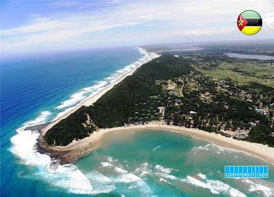 Ponta do Ouro in Southern Mozambique - Tourist numbers are down in 2015
