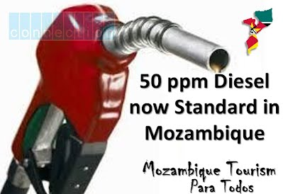 All Diesel in Mozambique to be 50 ppm Sulphur Content