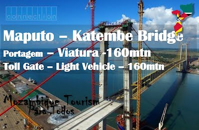 Maputo Katembe Bridge tolls to start from 160 MZN