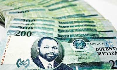 Mozambique Currency the Metical, or Meticais in plural