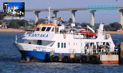 KaNyaka Ferry from Maputo to Inhaca Island